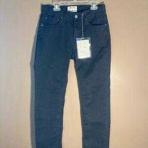 NWT Acne Studios Ace Ups Black Jeans 29x32
